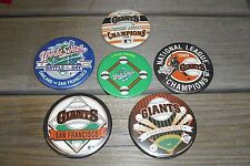 San Francisco Giants Pin Lot (6) - 1987 National League Champs 1989 World Series