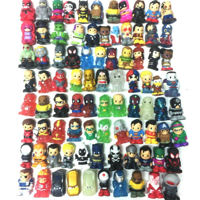 Random Lot 50PCS Ooshies DC Comics Marvel TMNT 1.5