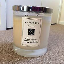 HUGE Jo Malone Amber & Sweet Orange Four Wick Candle - RRP £290 - Used -
