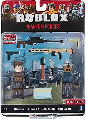 Roblox Phantom Forces Action Figure 2-Pack NIP 10pcs