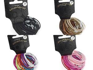 30 Hair Bobbles Girls Hair Accessory Hair Bands Elastics Thin Elastic ... f414082d2bf