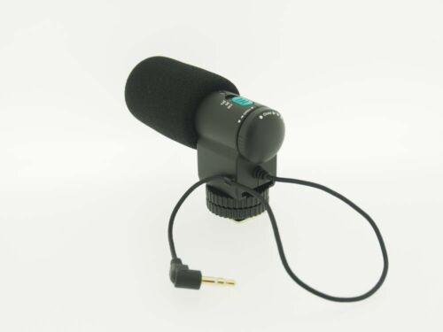 Microfone Estéreo 8,5cm Para Fujifilm MIC-ST1