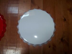 Bottle Cap Sign Coke Coca Cola From Vintage Mold White Round Blank Has edge Rubs