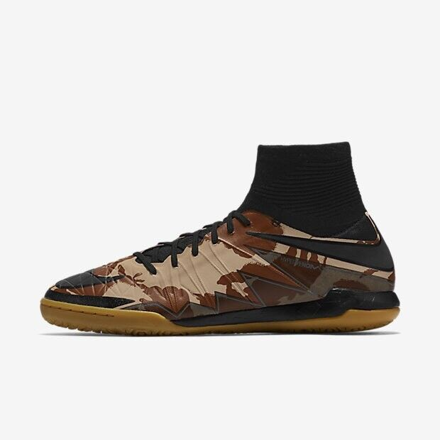 Nike HypervenomX Proximo IC CAMO Dessert Tan Khaki Tan Dessert Brown Black Men's Sz 10 Shoes 8e871b