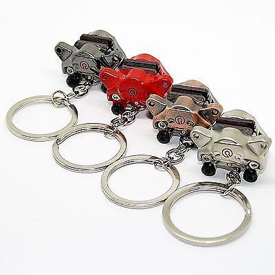 Alto Portachiavi Bremse - Ciondolo Metallo Auto Gomma Chiave Rame