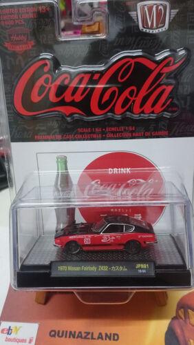 M2 Machines Coca Cola Limited Edition Choise//Choix lot ou à l/'unitè N25