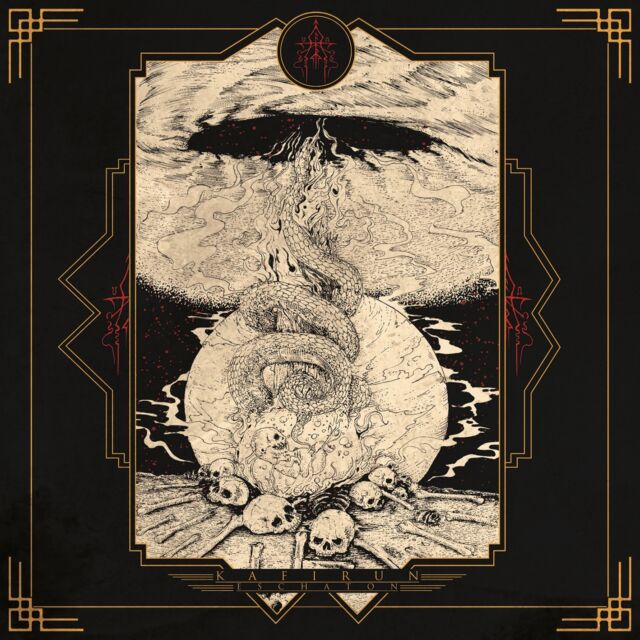 KAFIRUN - ESCHATON CD 2017 Canadian Occult Death Black Metal Blackmetal NEW