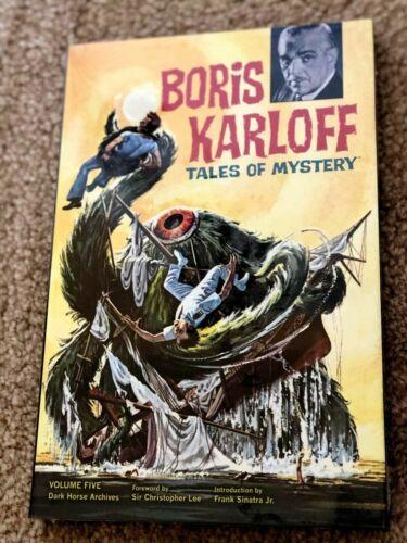 Boris Karloff Archives Volume 5 Dark Horse Comics Hardcover Gold Key SEALED