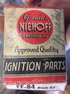 NOS-NIEHOFF-Generator-Brush-Set-FF-84-FF84-New-F-14