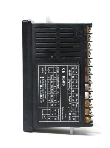 1pc Fotek NT-20R NT-20 48x96mm Temperature Controller K//J//Pt PID Relay Alarm *