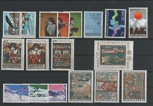 Liechtenstein-Vintage-Yearset-1979-Neuf-MNH-Complet-Plus-Sh-Boutique