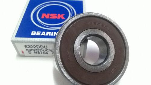 6302 DU NSK Ball Bearing 15x42x13 mm deep groove ball bearing 6302ddu