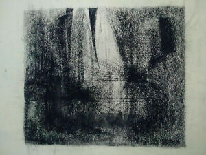Rare-large-abstract-drawing-geometrique-charcoal-constructivism-years-40-50