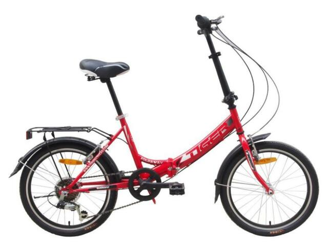 Image result for tiger fold away red bike