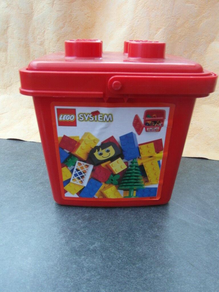 LEGO 1884 BASIC IM EIMMER ROT UNGEÖFFNET OVP NEU NEU NEU