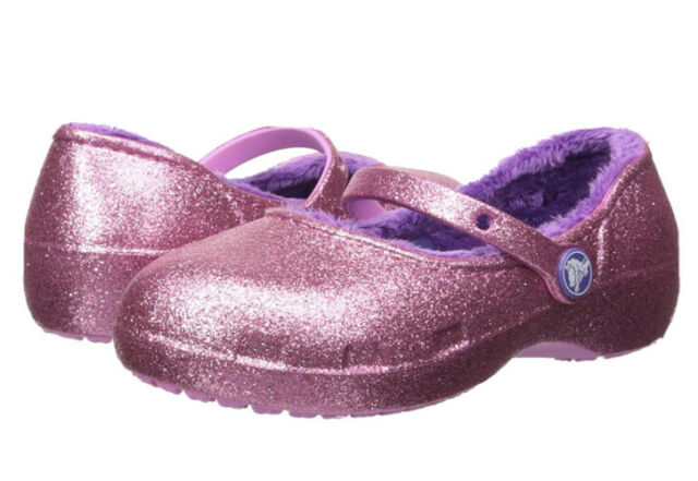 EUC Girls Karin Pink Sparkle Glitter