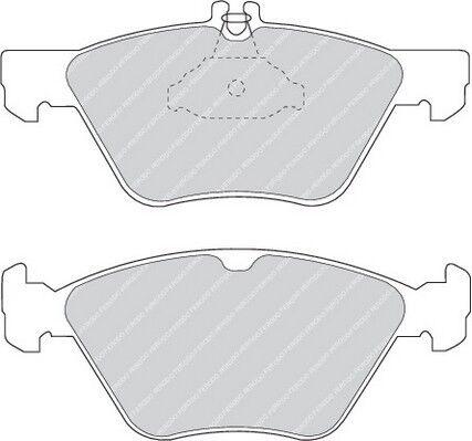 FDB1050-12 Month Warranty! Brand New Ferodo Front Brake Pad