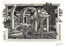 Ex Libris Lou Strik : Opus 193, Henk van Buul