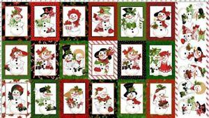 Loralie-Designs-White-Snow-Lady-Cotton-Fabric-Panel-692-399