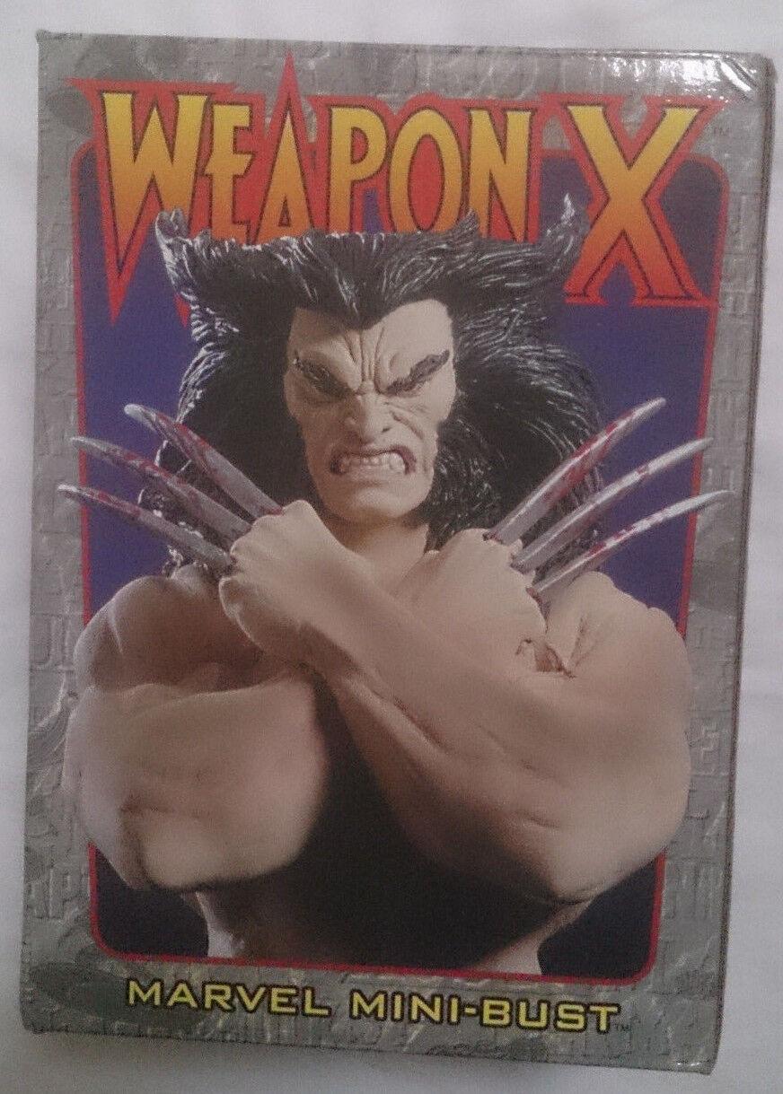 Marvel - comics bowen  x - men  waffe x mini - pleite   statue mit box vgc
