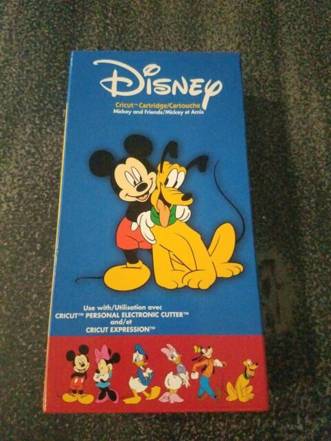 Cricut Cartridge Disney's Mickey and Friends Unlinked