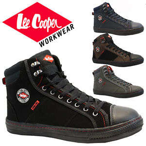 MENS LEE COOPER LEATHER SAFETY WORK BOOT STEEL TOE CAP SHOES ... 818a047b3