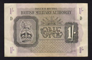 Great-Britain-Military-Authority-P-M2-1943-One-Shilling-gEF-Crisp