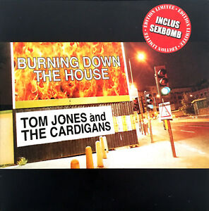 Tom-Jones-And-The-Cardigans-Maxi-CD-Burning-Down-The-House-Limited-Edition