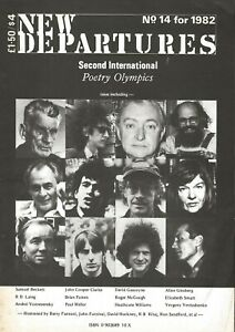 NEW-DEPARTURES-14-1982-ALLEN-GINSBERG-HEATHCOTE-WILLIAMS-R-D-LANG-UK-IMPORT