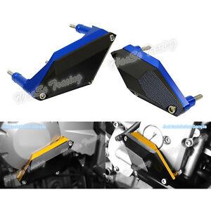 Engine-Sliders-Crash-Pad-Protector-Blue-Fit-YAMAHA-FZ6-FZ6R-XJ6-F-N-S-Diversion