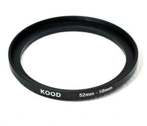 Stepping Ring 52-58mm 52mm to 58mm Step Up Ring Stepping Rings 52mm-58mm