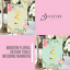 Personalised-Floral-Theme-Wedding-Table-Numbers-Name-Place-Cards-A5-A6-A7 thumbnail 1