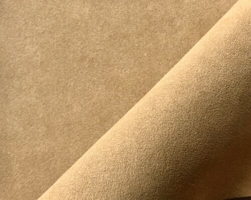 3051 Camel 144cm breit Meterware ORIGINAL Alcantara Stoff Cover Farbe