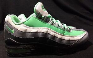 Detalles acerca de Nike Air Max 95 Zapatos rf grade school correr niños jóvenes Aloe Negro AV5138 001 mostrar título original