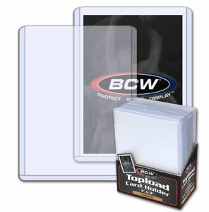 500-BCW-Premium-Heavy-Duty-3x4-Topload-Trading-Card-Holders-500-Sleeves