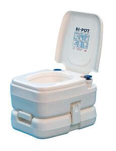 Potti-WC-Quimico-Portatil-Fiamma-Bi-Pot-30-11-Litros-Water-Furgoneta-Camper