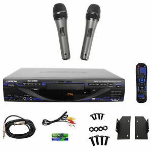 VocoPro-DVX-890K-Dvx890pro-DVD-CD-G-USB-SD-Karaoke-Player-Echo-FX-2-Microphones