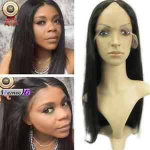 custom-silky-straight-8-034-24-034-100-indian-remy-human-hair-u-part-lace-wig-wigs