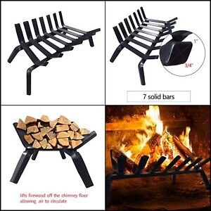 Fireplace Accessories Grates Fire Grate 3 4 Solid Steel Fireplace