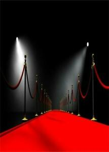 Red Carpet Light Photography 8x12ft Background Party Photo Prop Backdrop Event Ebay
