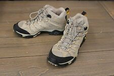 Merrell Women's Moab Ventilator Mid Hiking Boots, Taupe - Size 8.5