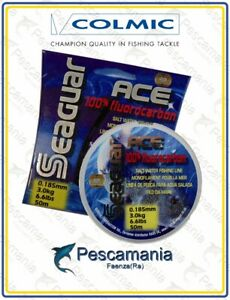 Fluorcarbon-100-Colmic-Seaguar-Ace-invisibile-in-acqua-made-in-japan