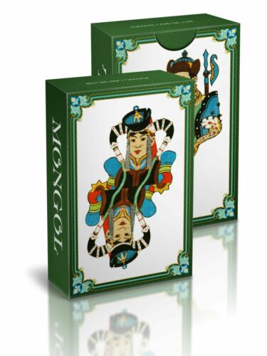 """№43 Playing cards /""""Mongol/"""""""