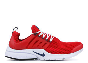 lowest price 482ab 7b3f3 Image is loading NEW-Nike-Air-Presto-Essential-Shoes-Red-White-