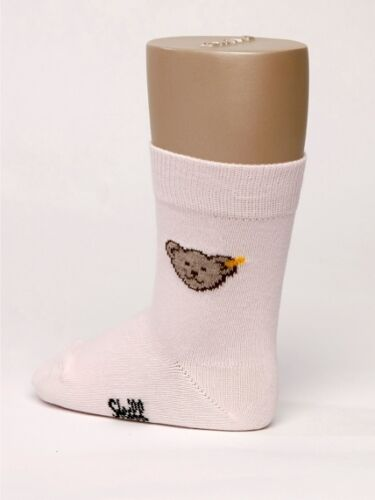 Steiff ® chaussettes socquettes rose ours 62-68 74-80 86-92 98-104 110-116 122-128 NOUVEAU!