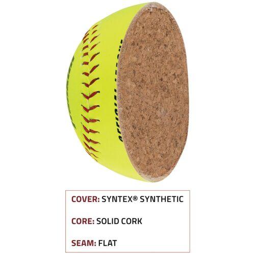 Franklin Official League Softball-Jaune ol-1000 Baseball-grand ballon