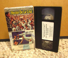 HECTOR DE LA CRUZ live VHS El Salvador sermon Christian evangelist Spanish video