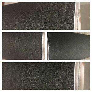 Pellicola adesiva nero glitter per car wrapping e tuning auto e moto senza bolle