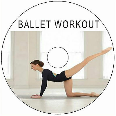 BALLET WORKOUT FITNESS EXCERCISE GET FIT ,DANCE FLEXIBILITY WEIGHT FAT LOSS DVD