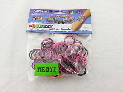 Rubbzy Tie Dye Multicolor 100 Silicone Bands